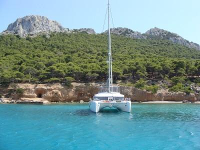Moni islet, a hidden paradise