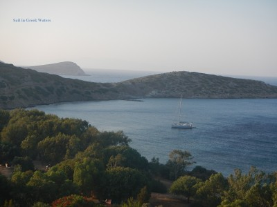 Secluded bays in Dodecanese islands