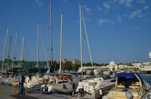 Rhodes port, berth near the Historic Town | Sail in Greek Waters