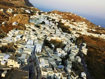The main village of Amorgos