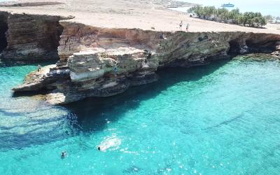 Amazing Landscape in Koufonissi|Sail in Greek Waters