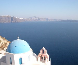 Breath taking Santorini island
