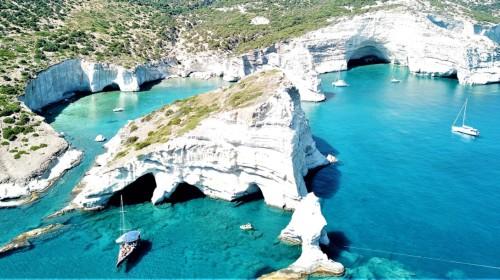 South coast of Milos