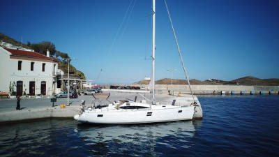 Elan Impression 444 - Yachts for rent -  Port of Lavrion | Sail in Greek Waters