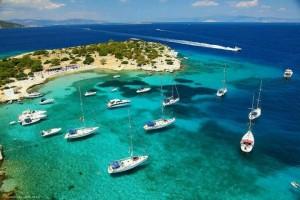 Sailing the Argosaronic Gulf- Moni islet