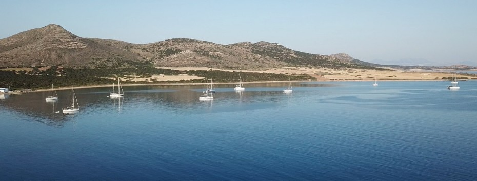 Secluded coves in the Cyclades islands | Sail in Greek Waters