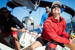Learn sailing with our skippers