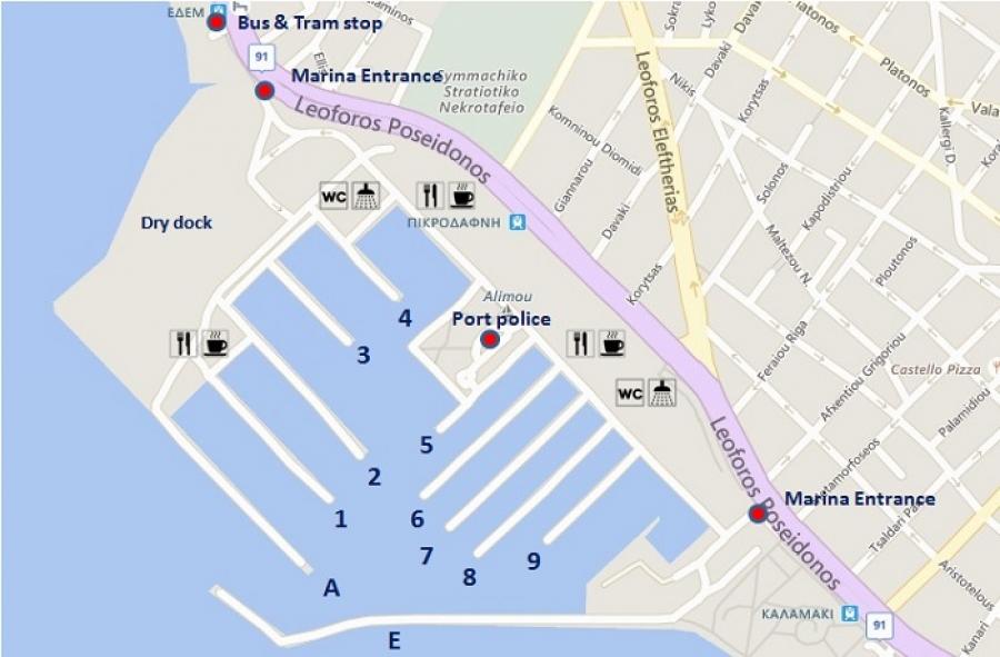 Alimos Marina | Sail in Greek Waters