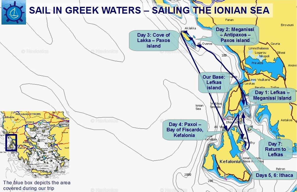 Lefkas, Paxoi, Kefalonia and Ithaca: 1 week sailing in the