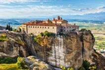 The impressive, top-cliff Monasteries in Meteora
