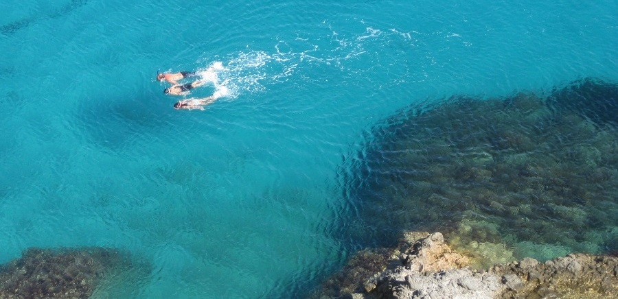 Snorkeling While Sailing | Sail in Greek Waters